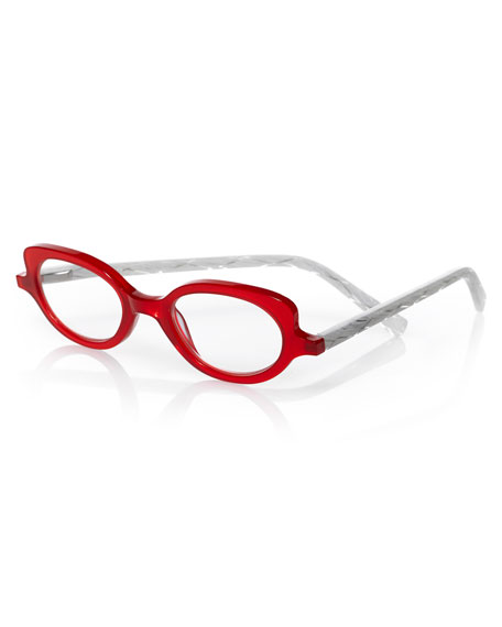 EYEBOBS PEEP SHOW TWO-TONE READERS