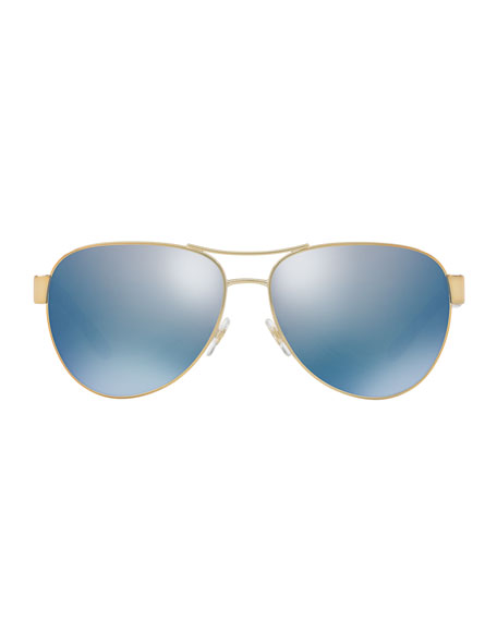 Logo Aviator Sunglasses