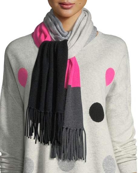 Lisa Todd Rock Star Cashmere Scarf and Matching