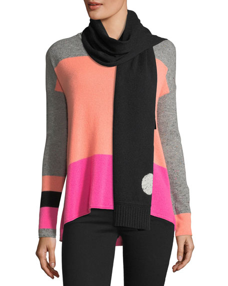 Lisa Todd Hot Spots Cashmere Scarf