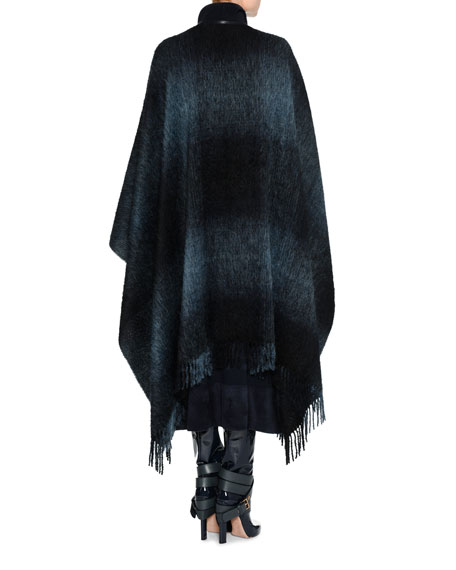 Alpaca-Wool Degrade Cape