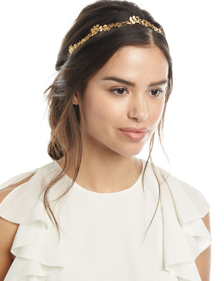 Jennifer Behr Gingko Leaf Headband