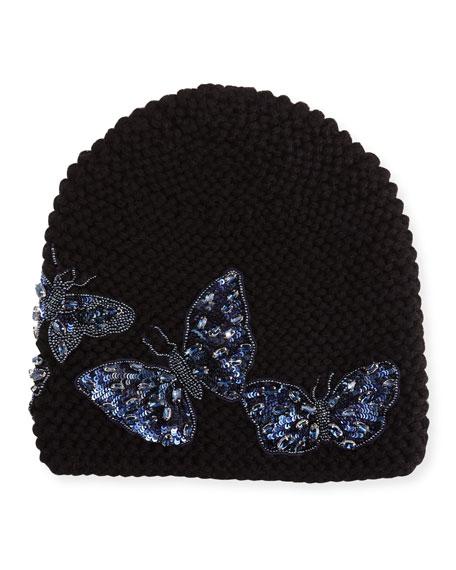 Jennifer Behr Mariposa Beanie Hat
