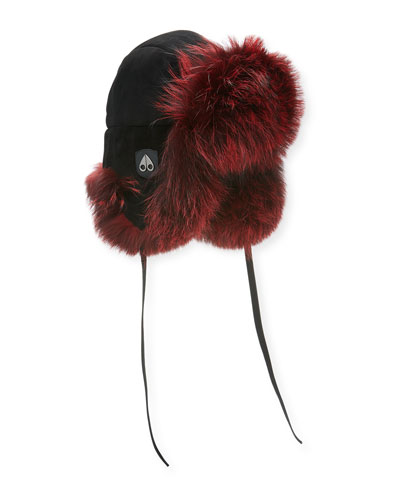 Casgrain Fox Fur Trapper Hat