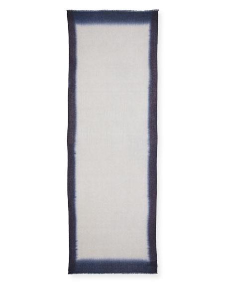 Cashmere Ombre Shibori Scarf