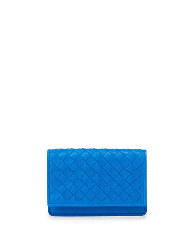 5/6 Credit Card Flip Case, Signal Blue