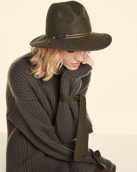 Wool Melange Hat