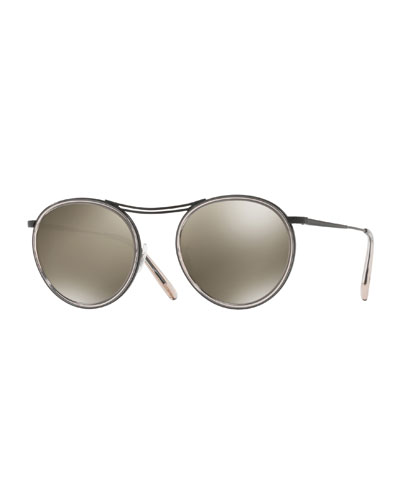 MP-3 30th Round Photochromic Sunglasses, Gray