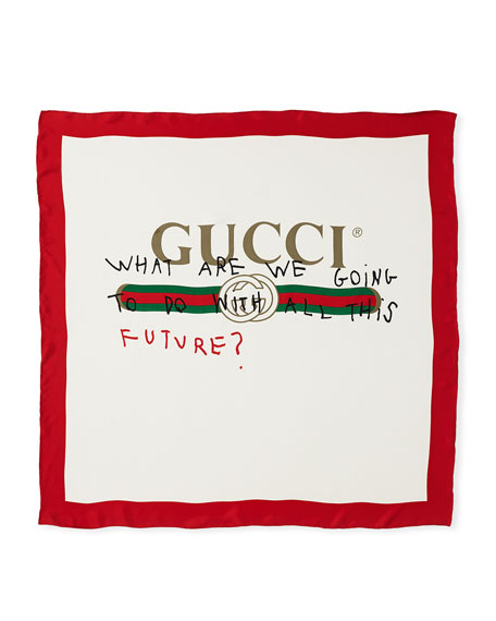 Gucci Future Foulard Scarf