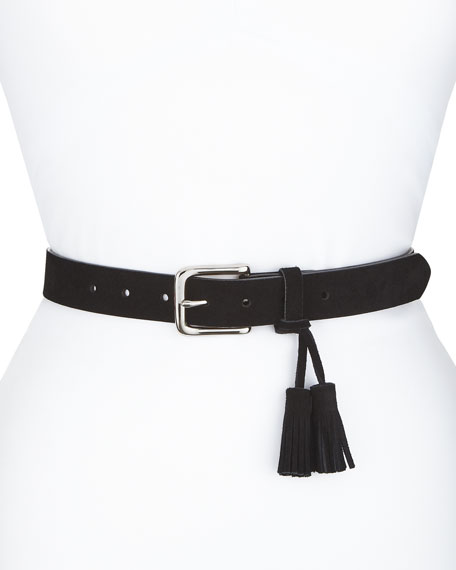 Rebecca Minkoff Angie Belt w/ Removable Tassel