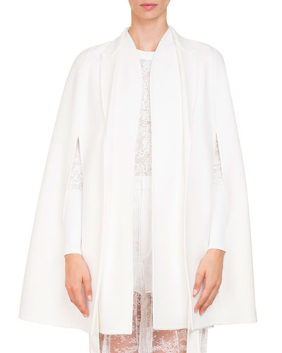 Double-Face Cashmere Cape