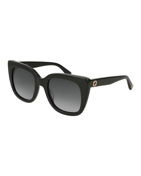 Gucci Cat-Eye Gradient Sunglasses