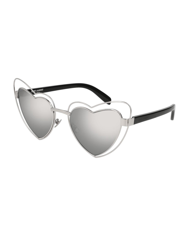 209e0d3c4e4a Silver Metal Frames Sunglasses | Neiman Marcus