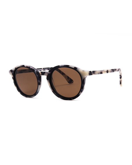 Buttery Round Acetate Sunglasses