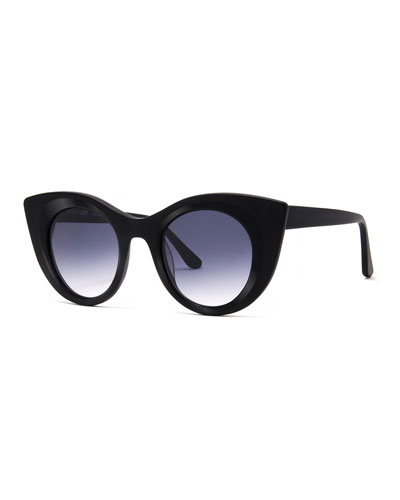 Hedony Gradient Cat-Eye Sunglasses