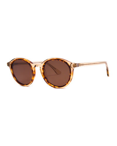 Buttery Round Transparent Sunglasses