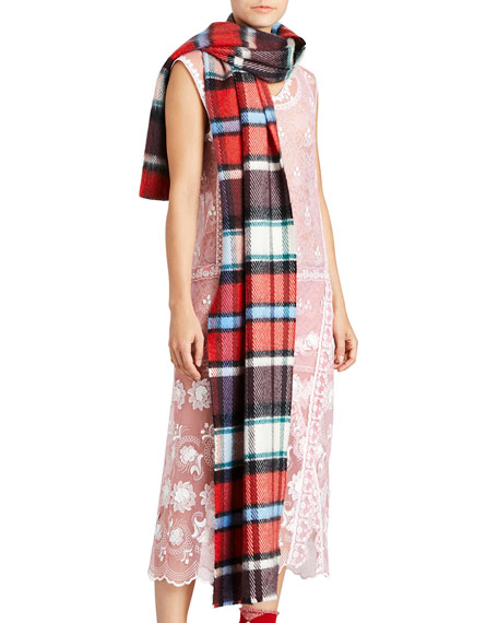 Burberry Blends Mega Check Scarf