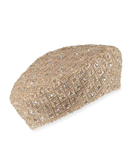 Eric Javits Glitter Swarovski® Crystal Beret