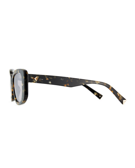 Rikki Speckled Butterfly Sunglasses