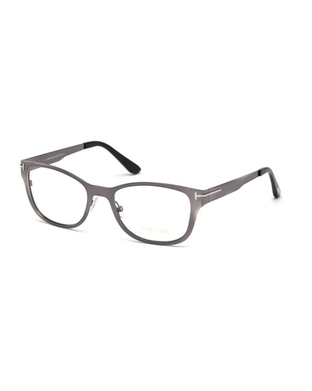 Metal Ophthalmic Optical Frames w/ Magnetic Sun Lenses