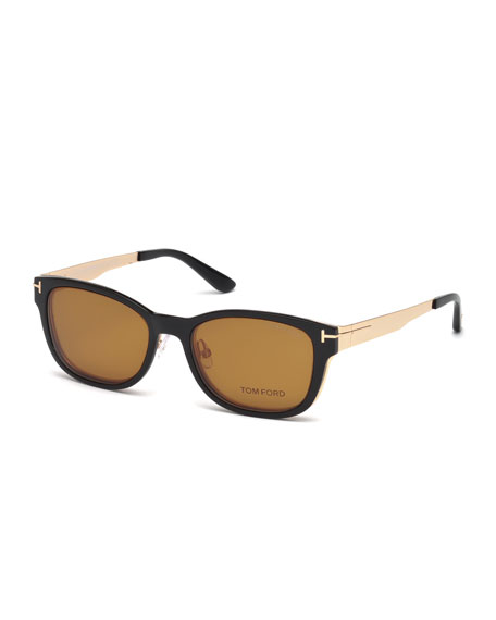 TOM FORD Ophthalmic Square Optical Frames w/ Magnetic