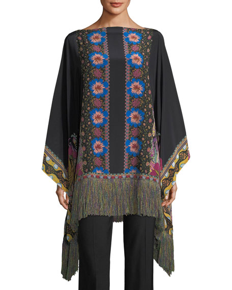 Etro Cady Kick-Flare Pants and Matching Items