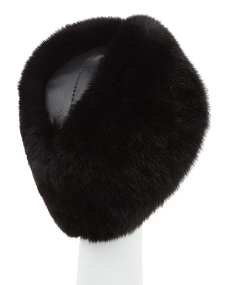 Joan Fur Envelope Hat