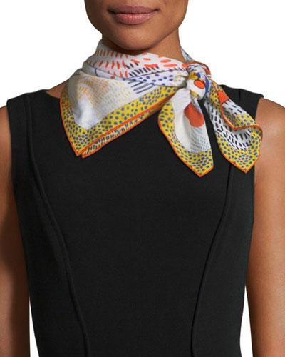Wandjina Mini Silk Scarf