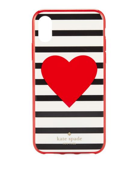 heart stripe resin iphone 8/7 case