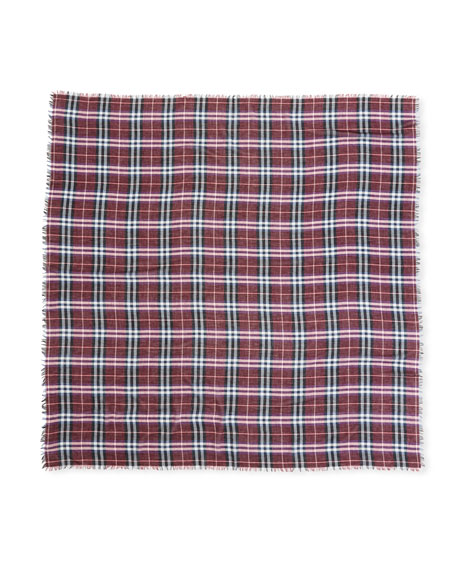 Castleford Lightweight Check Scarf