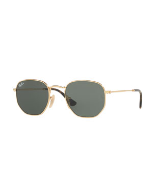 dbb53749cd Ray-Ban Square Metal Keyhole Sunglasses