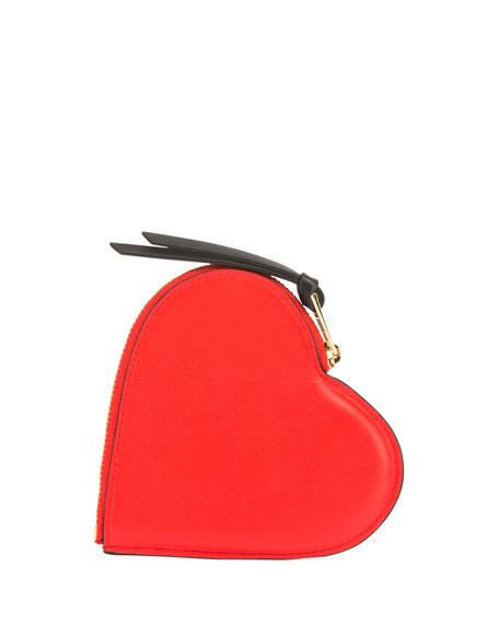 Cookie Heart Smooth Calf Card Case