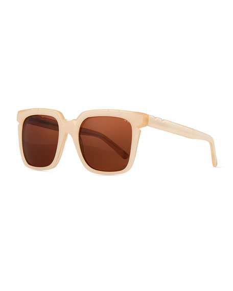 Pared Eyewear Square Acetate Sunglasses