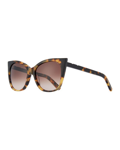 Cat & Mouse Cat-Eye Sunglasses