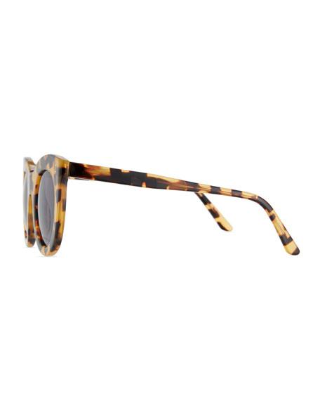 Boca II Cat-Eye Sunglasses, Brown