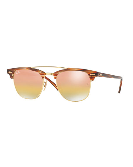 Ray-Ban Clubmaster Iridescent Sunglasses