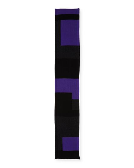 Colorblock Tencel®-Blend Scarf