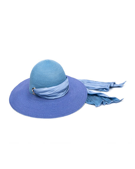Eugenia Kim Honey Floppy Ombre Hemp Sun Hat