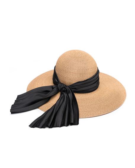 Eugenia Kim Honey Floppy Sun Hat with Satin