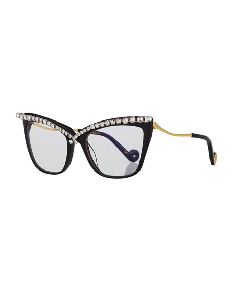 Anna-Karin Karlsson Lusciousness Divine Cat-Eye Crystal Optical