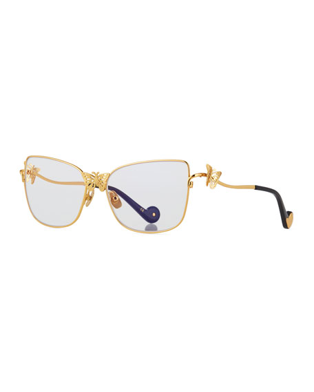 Anna-Karin Karlsson Le Papillon Cat-Eye Optical Frames w/