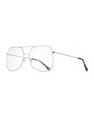 Mesh Aviator Metal Optical Frames