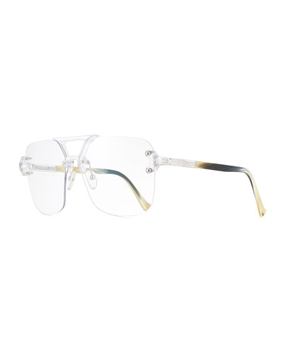 Savant Rimless Square Optical Frames