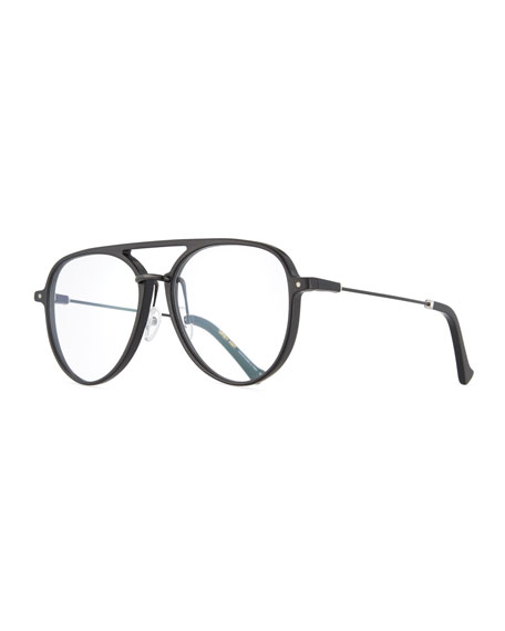 Grey Ant Praph Aviator Optical Frames, Black