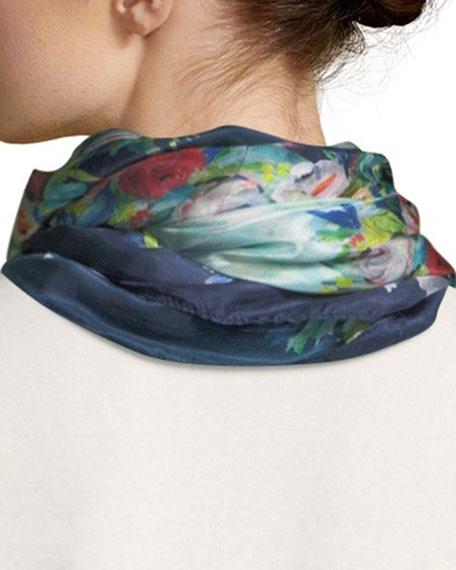 Midleton Silk Printed Scarf