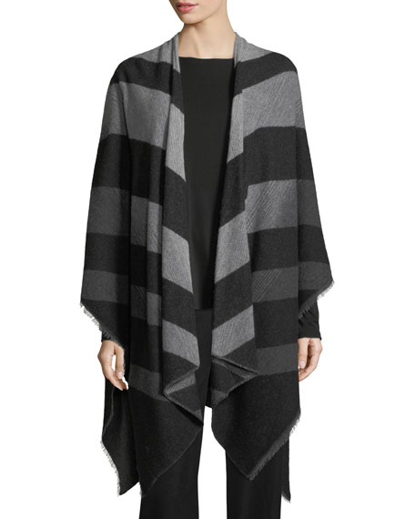 Chevron Cotton Poncho