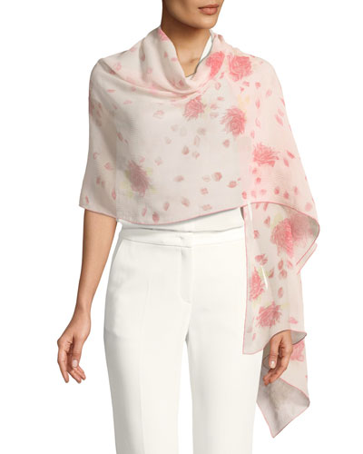 Rose Re-Edition Print Stole