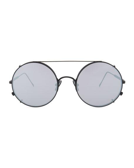 Valentine Round Clip-On Sunglasses