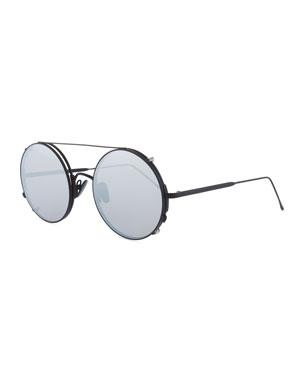 bf7e482c5d6 Sunday Somewhere Valentine Round Clip-On Sunglasses