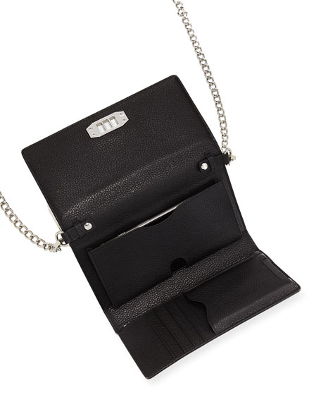Lovelock Phone Crossbody Bag with Removable Power Bank